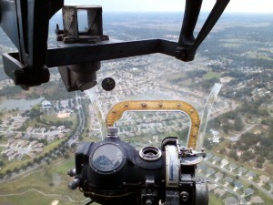 View from the Nose of B-17G Nine-O-Nine