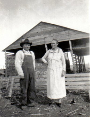 John and Fannie Bryant, 1927