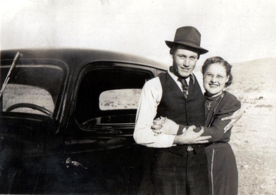 Lenard and Maudene Bryant 1939