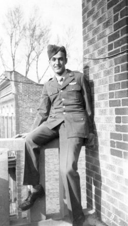 Sebastiano Joseph Peluso, Radio Operator/Gunner for the Buslee Crew