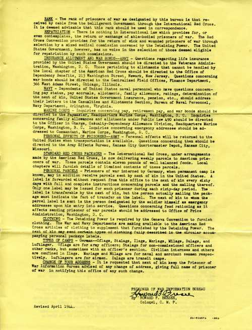 Page 2 of Information Circular No. 10