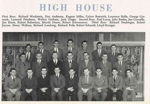 John Oliver Buslee, second row, second from left at the University of Wisconsin