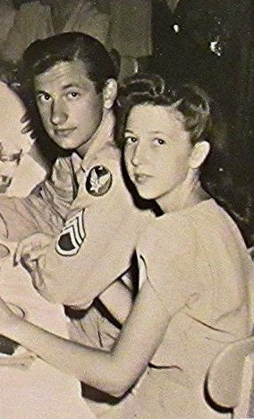 Harry and Carrie Liniger, newly married