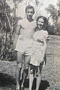Harry and Carrie Liniger in Ocala, FL after the war