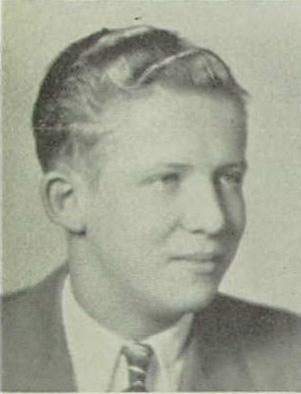 Floyd Vevle, Senior class of 1940, Port Washington High School Yearbook photo