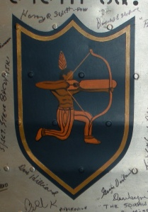 545th Bomb Squad Insignia from the 384th Bomb Group Wing Panel