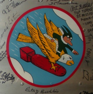 546th Bomb Squad Insignia from the 384th Bomb Group Wing Panel