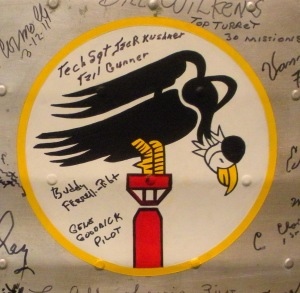 547th Bomb Squad Insignia from the 384th Bomb Group Wing Panel