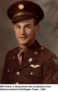"""Arthur J. """"Ozzie"""" Osepchook, 384th Bomb Group, 546th Bomb Squad"""