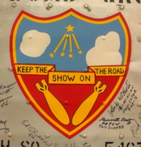 384th Bomb Group's Insignia from the Wing Panel