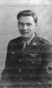 Eugene Spearman, Radio Operator/Gunner in the 8th Air Force, 384th Bomb Group, 544th Bomb Squadron during WWII