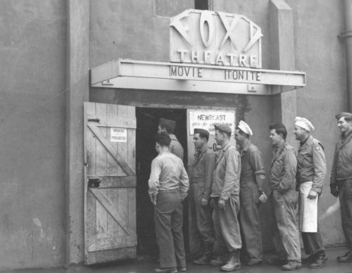 The Foxy Theatre, from the Robert Bletscher collection