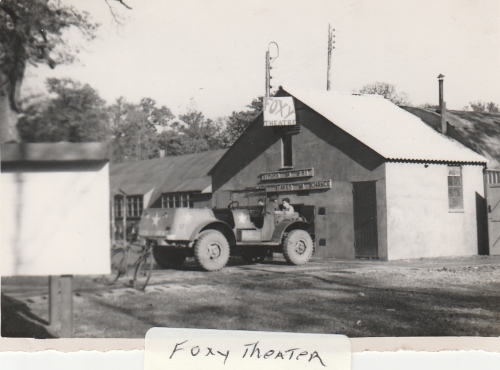 The Foxy Theatre - from the Leonard R. Niemiec Collection