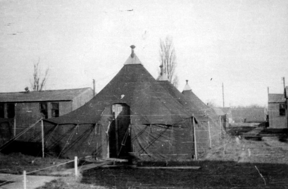 Tents and Barracks