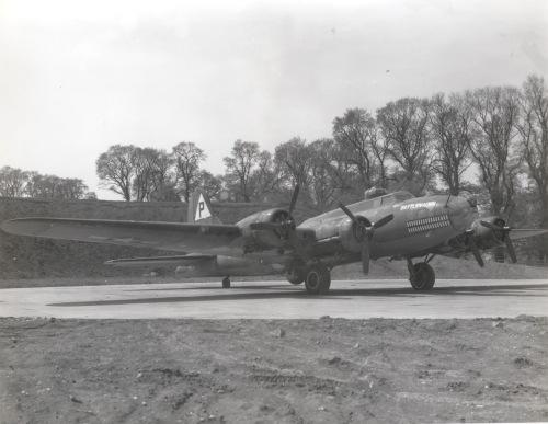 "B-17F 42-30026 BK*J, ""BATTLEWAGON"""