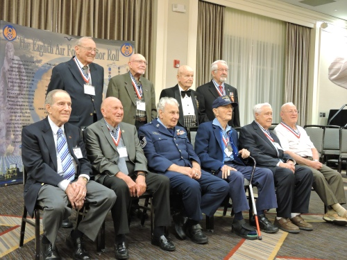 2016 8th AF Reunion Gala Dinner and Program in St. Louis, MO Veterans of the 8th AF in WWII who were prisoners of war