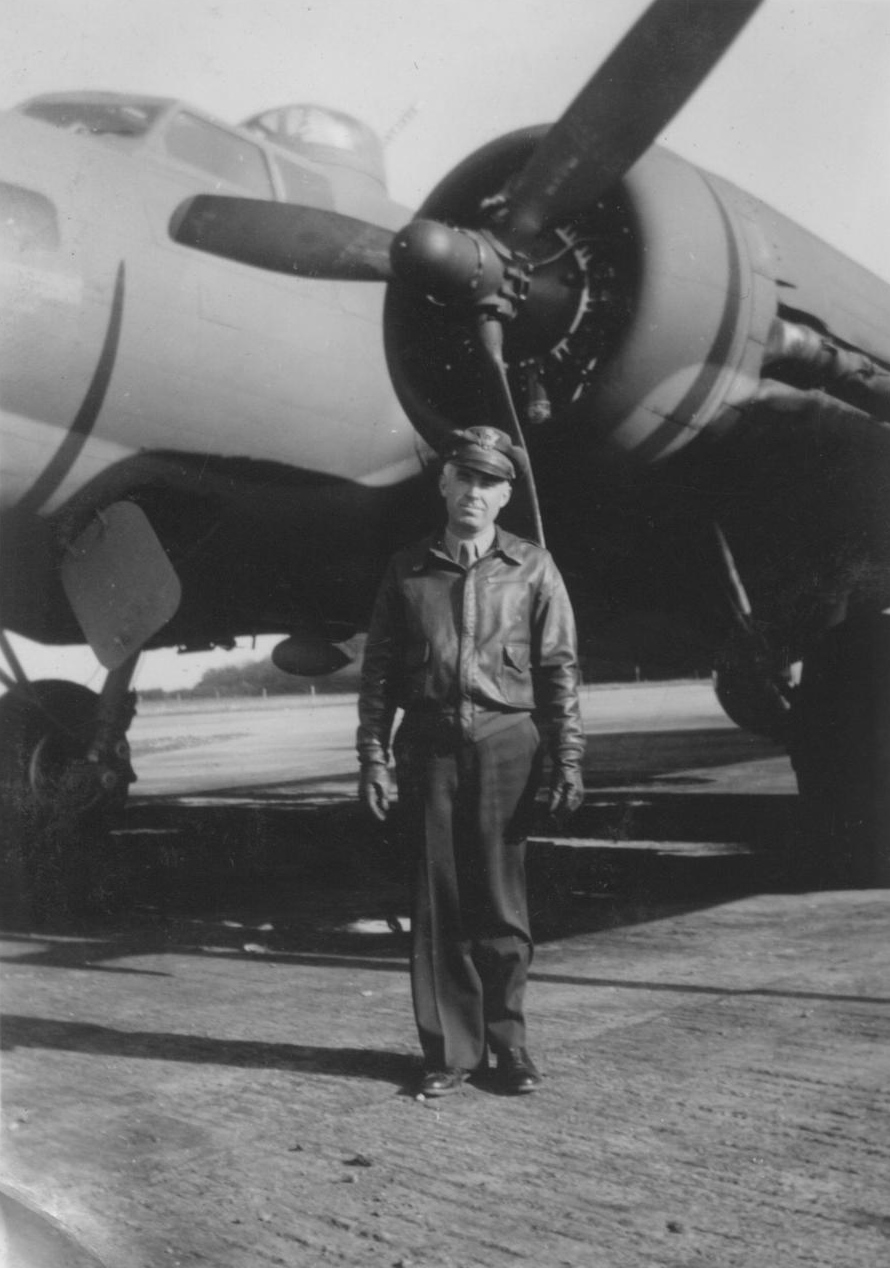 Col. Julius Lacey, 384th Bomb Group Commander at Grafton Underwood