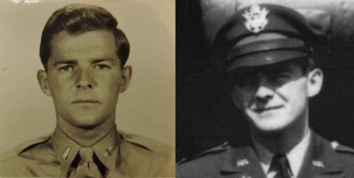 James Davis on the left.  Davis or Marvin Fryden on the right?
